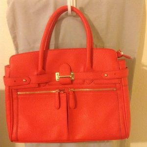 JustFab faux leather tote